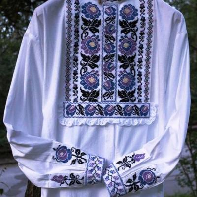 Košeľa mužská krojová