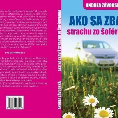 Kniha Ako sa zbaviť strachu zo šoférovania