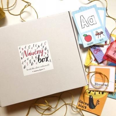 Náučný box - krabička plná vedomostí s vrecúškom na cestovanie
