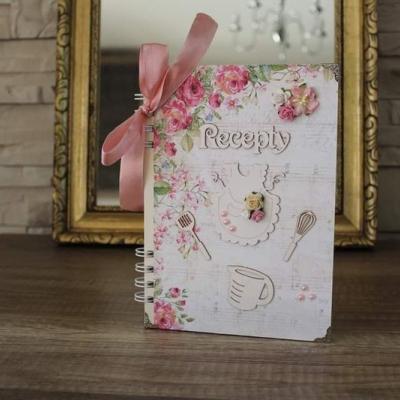 Romantický kvetinový receptár