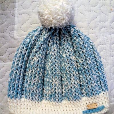 Háčkovaná čiapka (detská)
