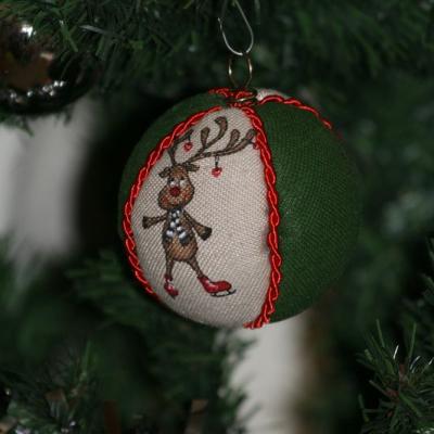 Vianočné gule  - sob