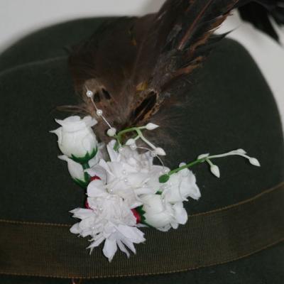 Pierko za klobúk - kohút