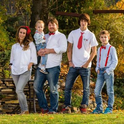 Rodinné EXTERIÉROVÉ fotenie
