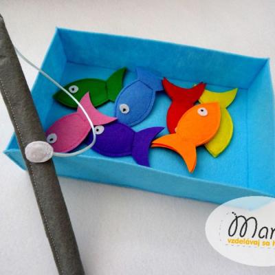 Magnetické rybky - rybolov