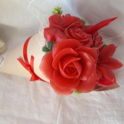 Kvetove mydlove kornuty