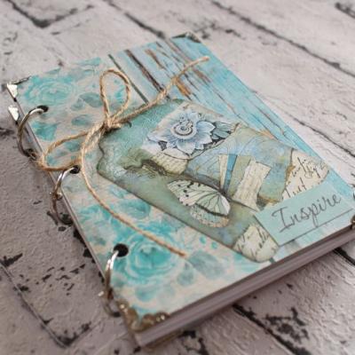 Nekonečný tyrkysový zápisník/diár /notes