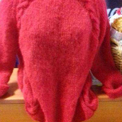 Mohérový pulóver