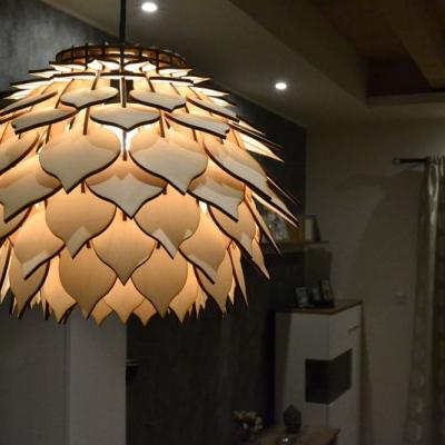 Lupeňová lampa