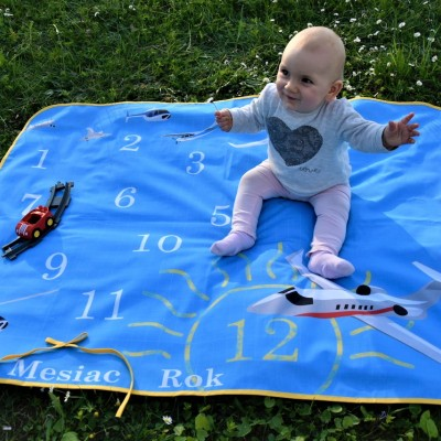 Miľníková podložka na fotenie detičiek