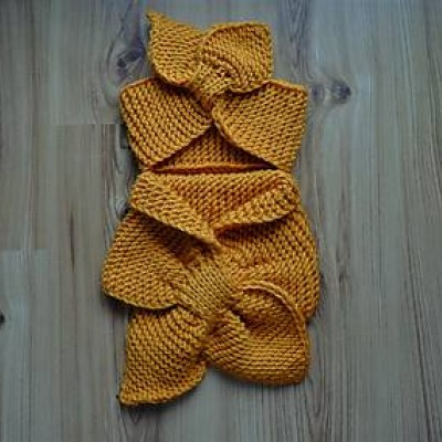 Dámska čelenka a šál