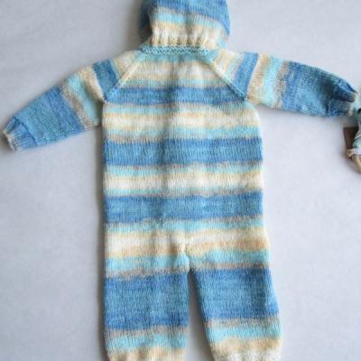 Detský pletený overal farebný