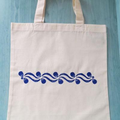 Maľovaná taška - folklórny vzor
