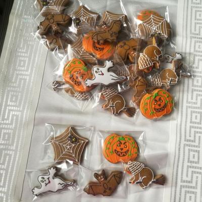 Halloweenske medovníky