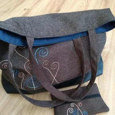 Veľká taška s puzdierkom na drobnosti