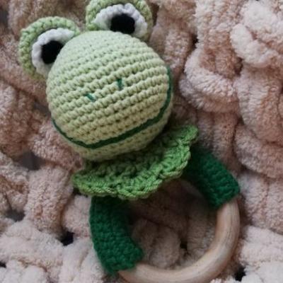 Hrkálka Žabka - zelená