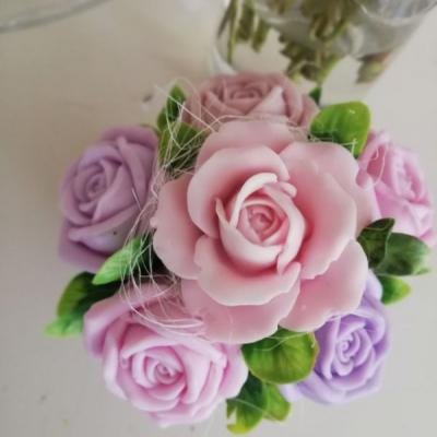 Ruže mydlová kytička