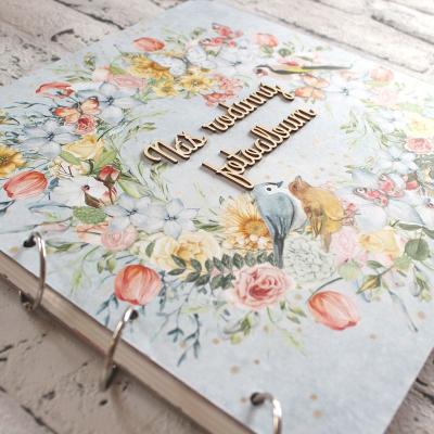 Veselý kvetinový maxi rodinný fotoalbum