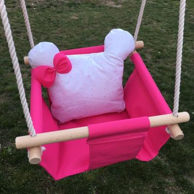 Nepremokavá textilná detská hojdačka
