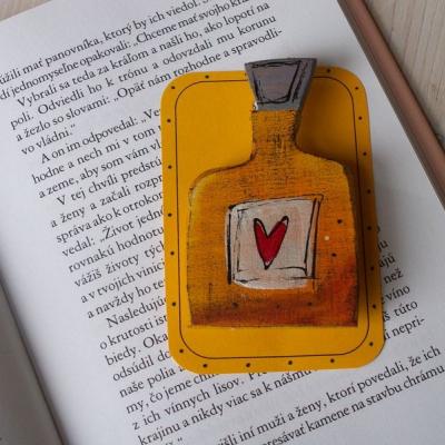 Elixír lásky - brošňa