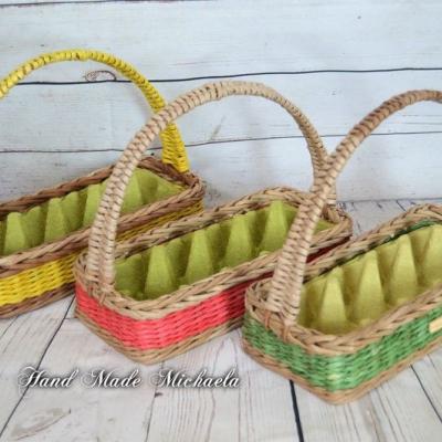 košíky na vajíčka