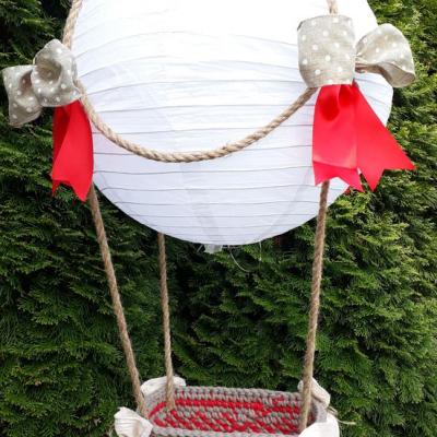 Balón červeno-hnedý