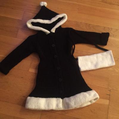 Pletený dievčenský kabátik