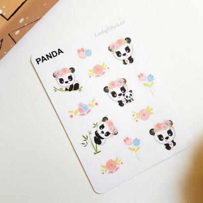 Samolepky Veselá Panda