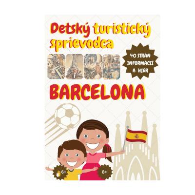 Kniha - Detský turistický sprievodca BARCELONA
