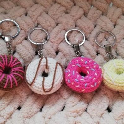 Kľúčenka - donut