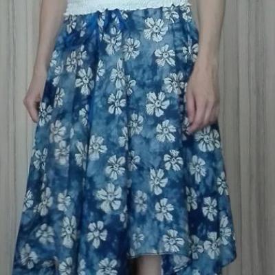 Atyp letná kruhová sukňa