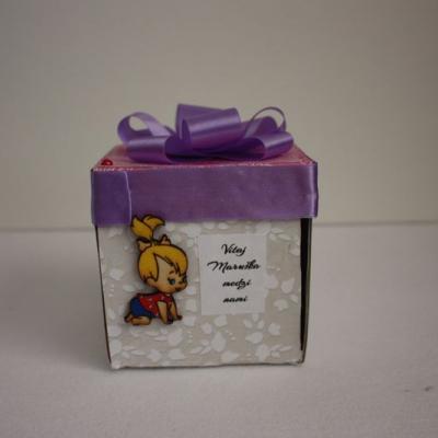 Krabička na peniaze - krst