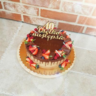 Zápich do torty - narodeninový