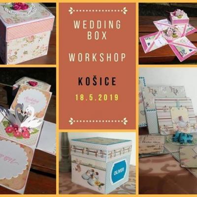 Wedding Box Workshop - svadobné tvorenie