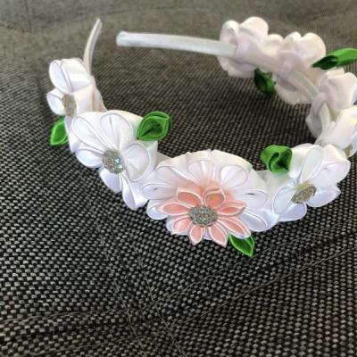 Čelenka- kvetinový venček