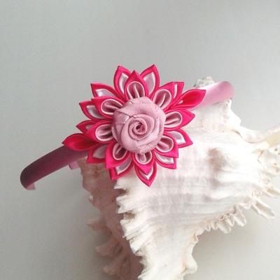 Čelenka pre dievčatko ružová