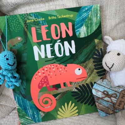 knižka Leon Neón                 vek 2+