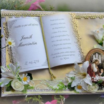 Pamätný darček k prvému svätému prijímaniu