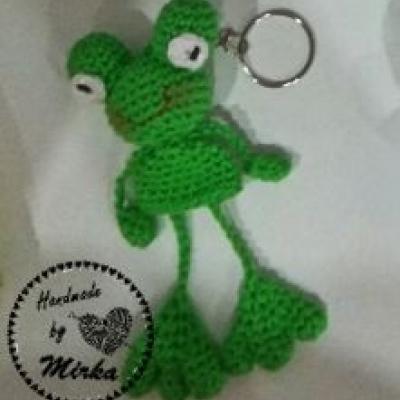 Kľúčenka žabka