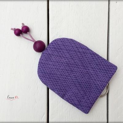 Kľúčenka - fialový harlekýn