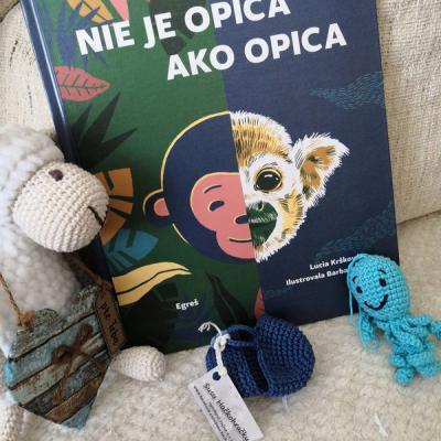knižka       Nie je opica ako opica      vek 4+