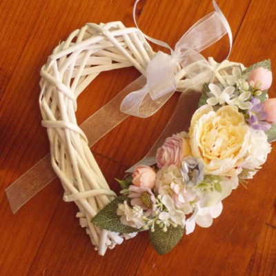Kvetinovo-marhuľkové srdiečko