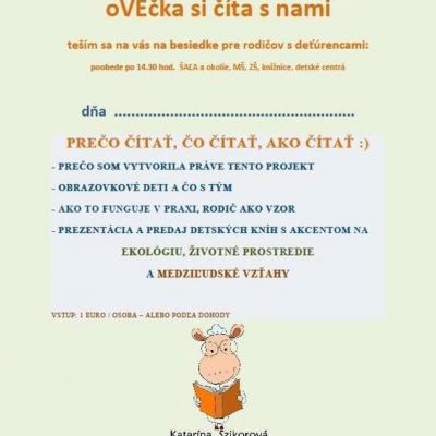 besiedka - Projekt podpory čítania pre rodičov s deťúrencami