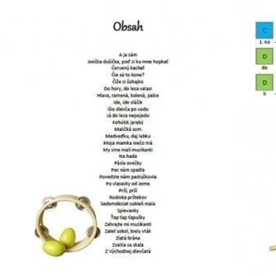 Muzicírovanie- predloha na hru na xylofóne/metalofóne- Slovenské ľudové piesne a koledy
