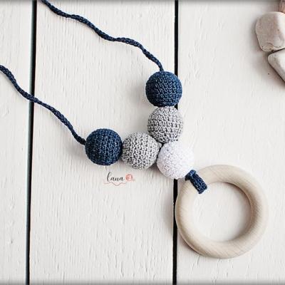 Spln  - háčkovaný náhrdelník