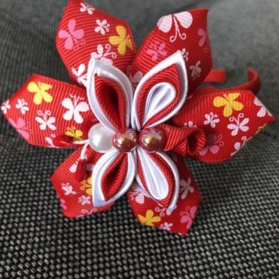 Čelenka Červený motýlik