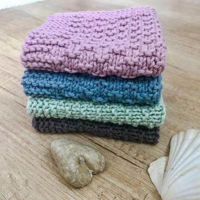 Štrikované hygienické uteráčiky