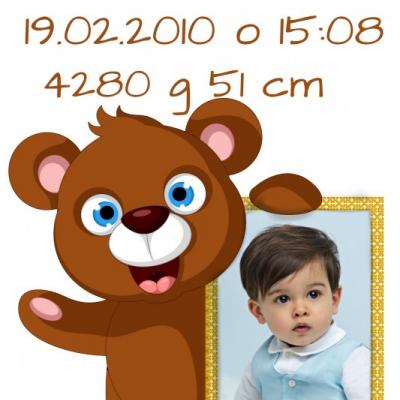 Pamätná tabuľka  (medvedík )
