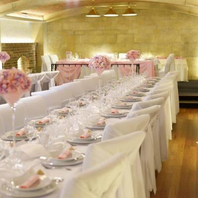 Svadobná výzdoba ružová