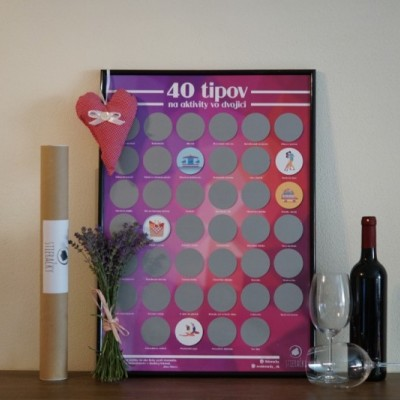 Stieracie plagáty: Tipy na aktivity vo dvojici
